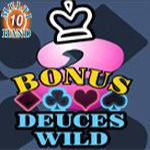 Bonus Deuces Wild (10 Hands)