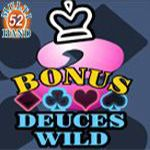 Bonus Deuces Wild (52 Hands)